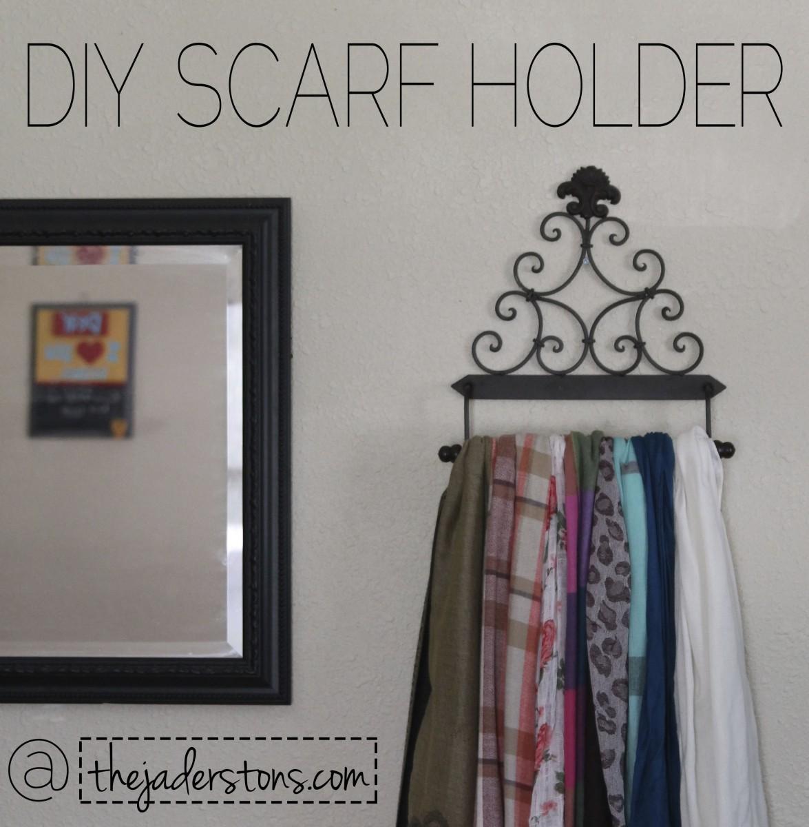 DIY scarf hanger – The Jaderstons