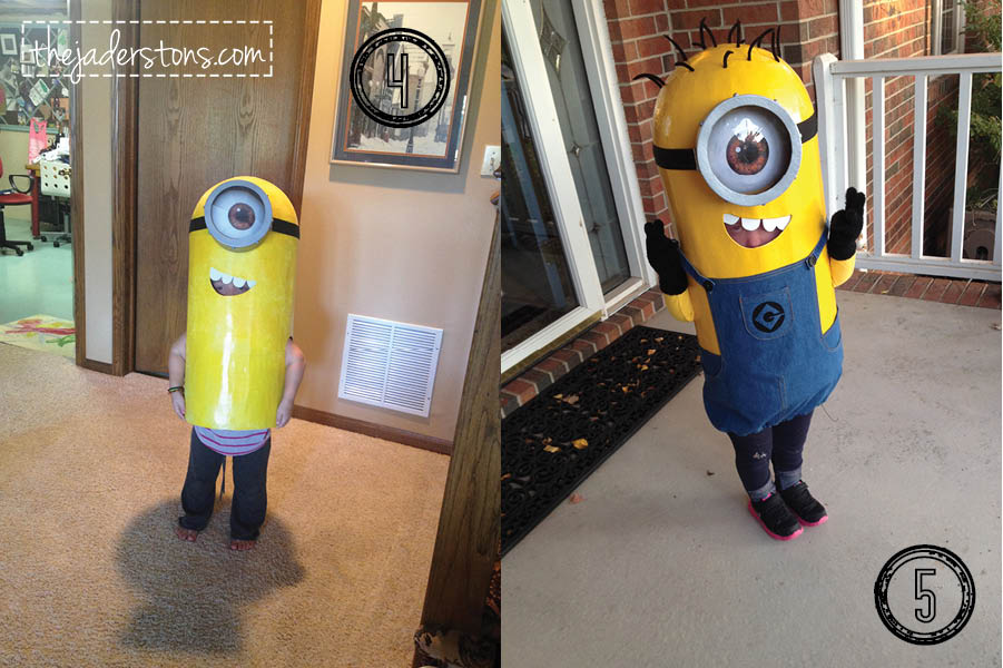 Minion Costume How To Make