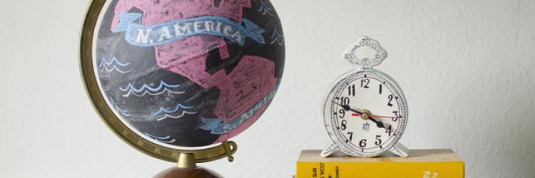 Guest Post: Chalkboard Globe