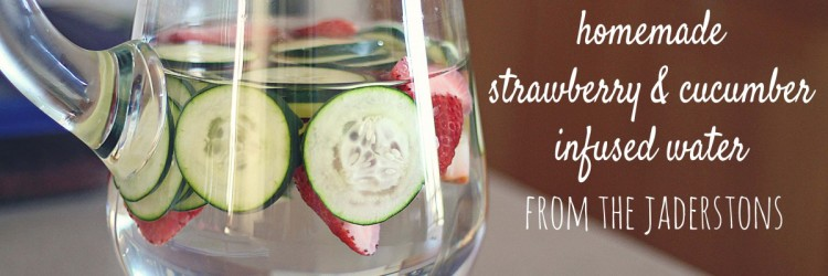 Strawberry Cucumber Water