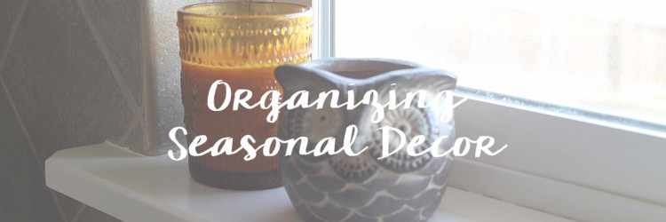 Organizing the Seasons