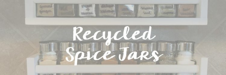 Recycled Spice Jars